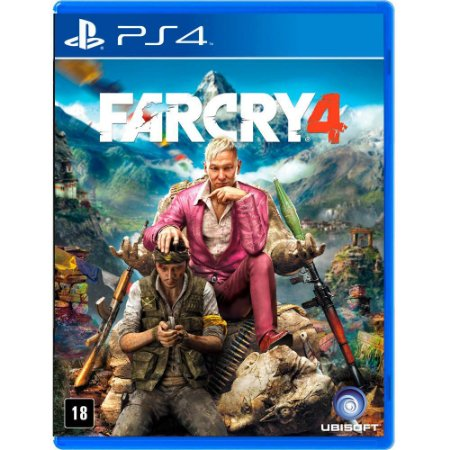 FarCry Far Cry 4 (Seminovo) - PS4