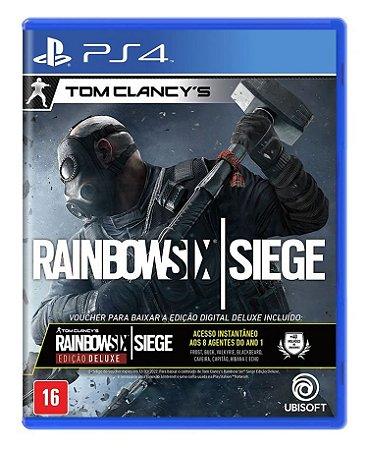 Tom Clancy's: Rainbow Six Siege (Edição Deluxe) - PS4