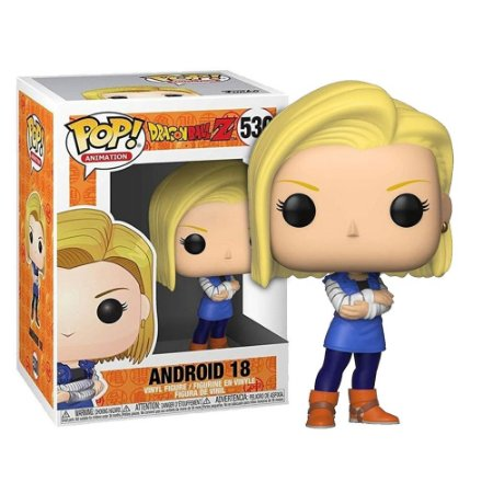 Funko Pop! Anime - Dragon Ball Z - Android 18 #530