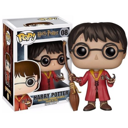 Funko Pop! Movies - Harry Potter - Harry Potter Uniforme Quadribol #08