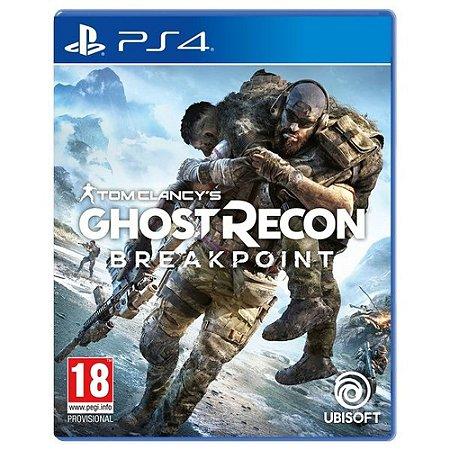 Ghost Recon - Breakpoint - Edição De Lançamento - PS4