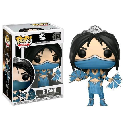 Funko Pop! Games - Mortal Kombat - Kitana #253