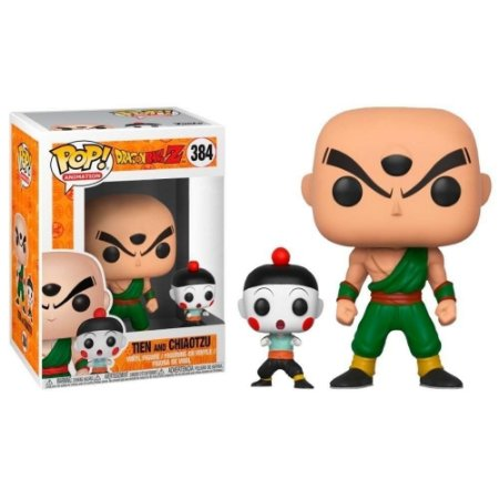 Funko Pop! Anime - Dragon Ball Z - Tien & Chiaotzu #384