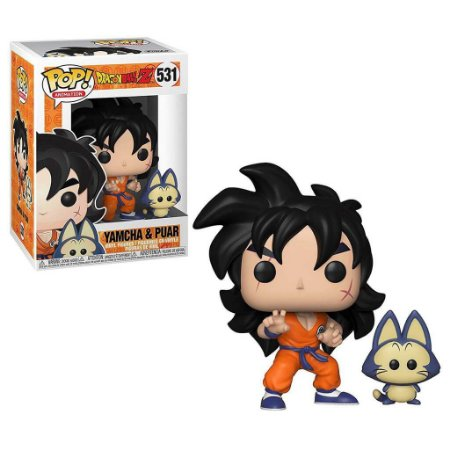 Funko Pop! Anime - Dragon Ball Z - Yamcha & Puar #531