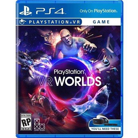 Jogo Playstation VR Worlds - PS VR - Sony