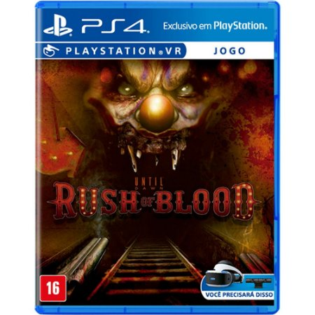 Until Dawn - Rush Of Blood Vr - PS4