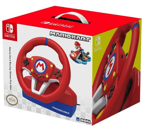 Volante Hori Mario Kart Racing Wheel Promini - Nintendo Switch