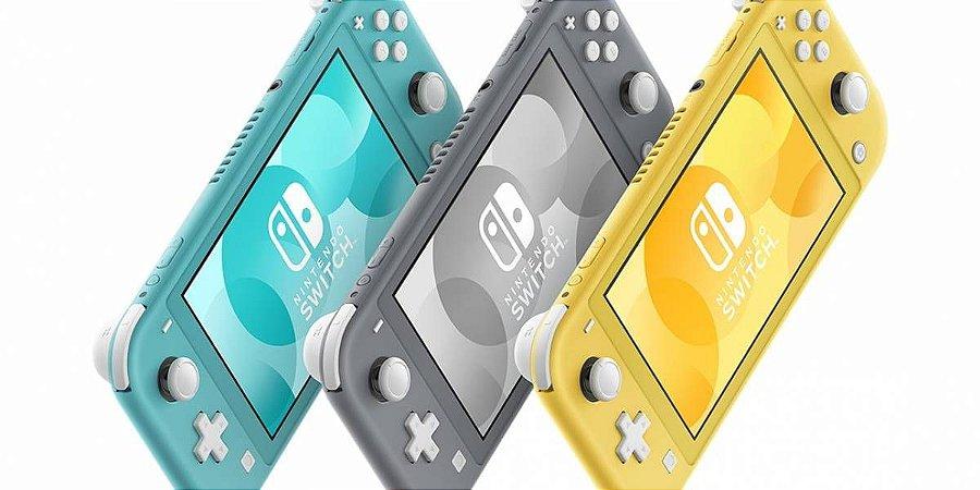 Console Nintendo Switch Lite (Conferir Cores Disponíveis) - Seminovo - Switch