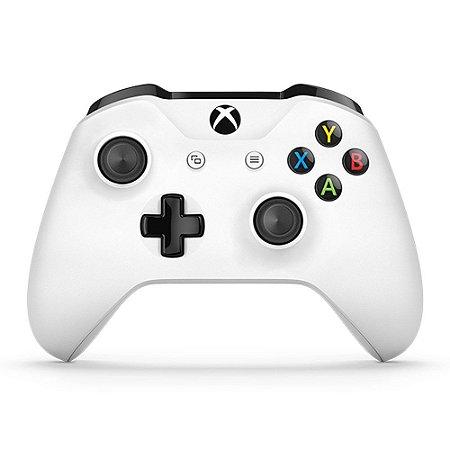 Controle Xbox One S Branco (Seminovo) - Microsoft