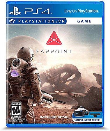 Farpoint (Seminovo) VR - PS4