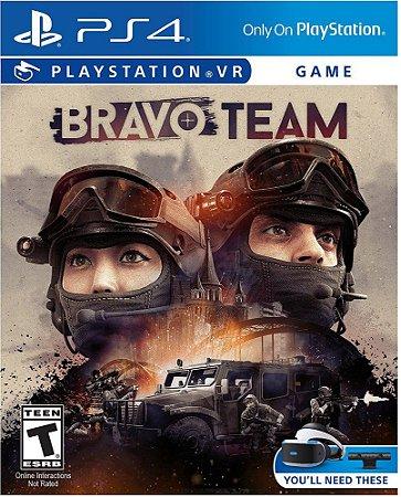 Bravo Team VR (Seminovo) - PS4