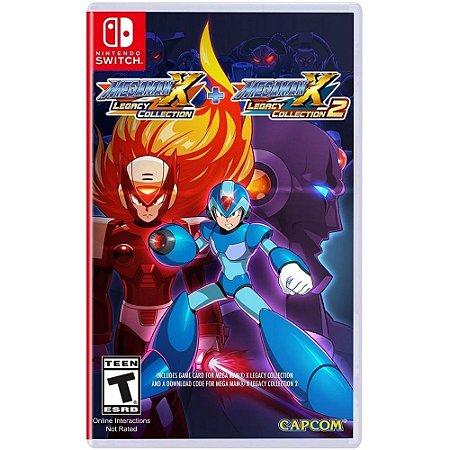 Mega Man X Legacy Collection 1 + 2 (Seminovo) - Switch