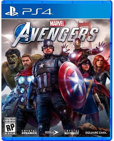 Jogo Marvel Avengers - PS4
