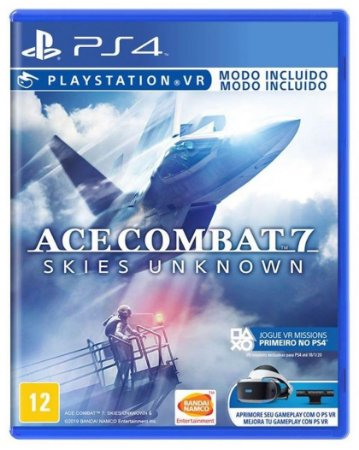 Ace Combat 7 Skies Unknown (Seminovo) - PS4