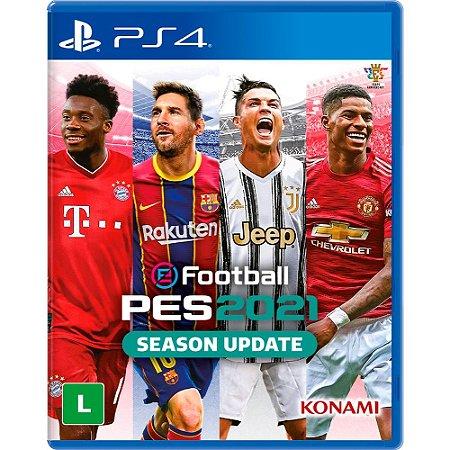 EFootball PES 2021- PES 21 - JÁ DISPONÍVEL - PS4