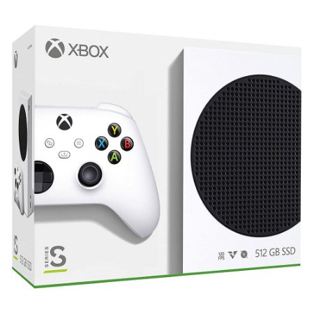Console Xbox Series S SSD 512GB - Microsoft