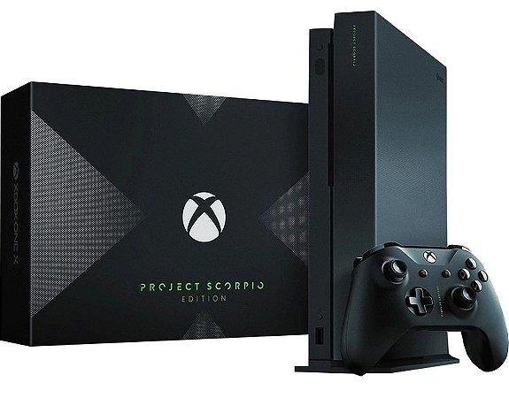 Console Xbox One X 1TB - Project Scorpio Edition (Seminovo)