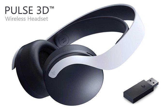 Headset Sem Fio Playstation 5 - Pulse 3D - PS4 - PS5 - Sony