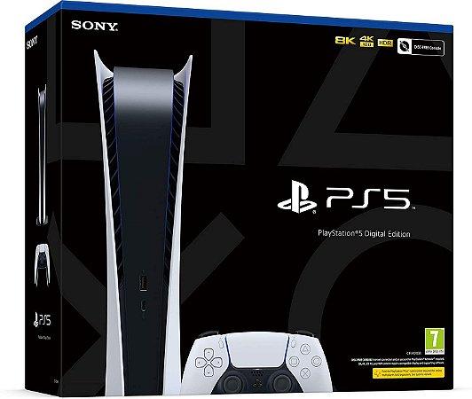 Console Sony Playstation 5 (Digital) - Sem Leitor de Disco - PS5 - Sony