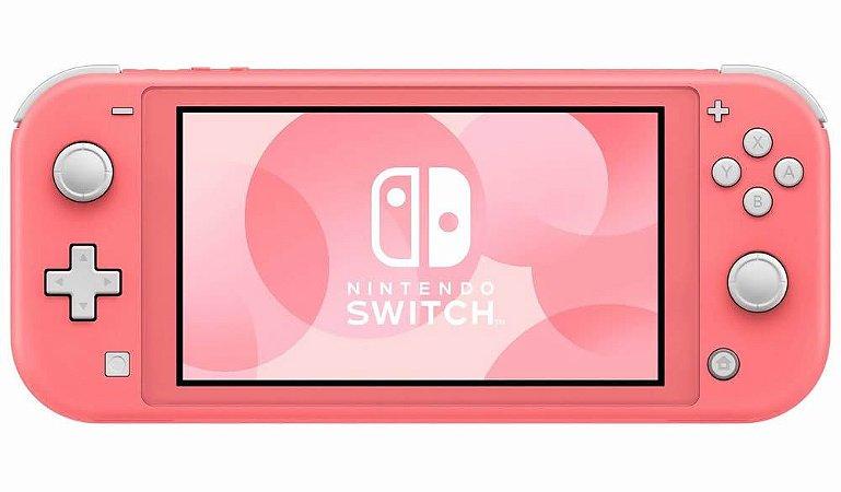 Console Nintendo Switch Lite Cor Coral (Seminovo) - Switch