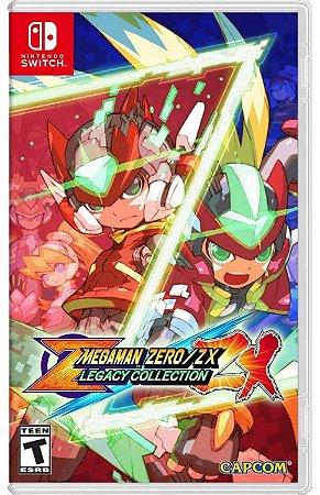 Megaman Zero ZX Legacy Collection (Seminovo) - Switch