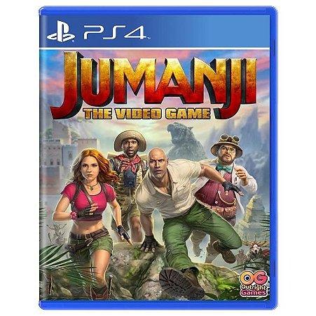 Jumanji The Video Game (Seminovo) - PS4