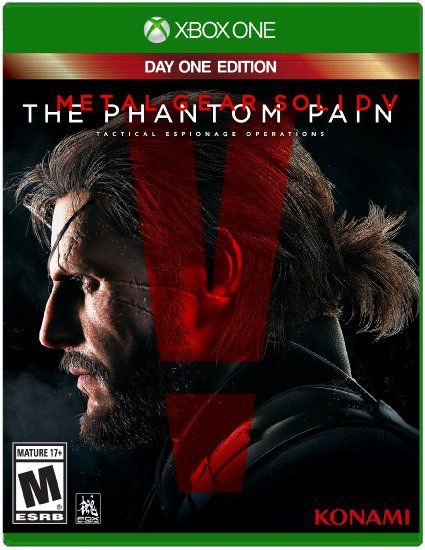 Metal Gear Solid V - The Phantom Pain - Day One Edition - Xbox One