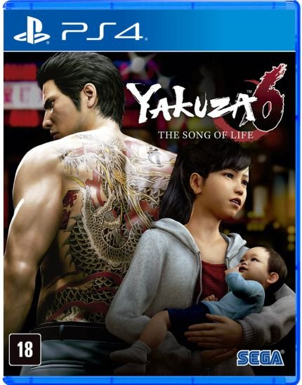 Yakuza 6 the song of life ps4