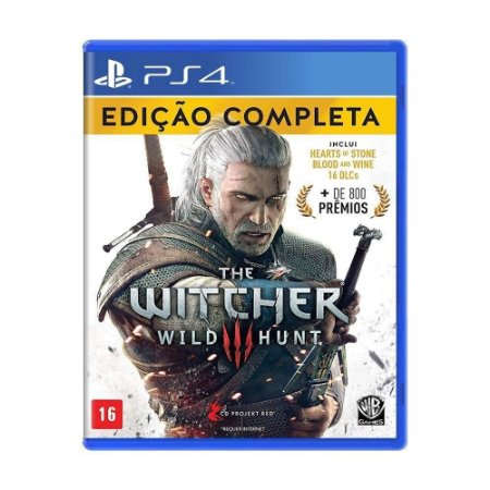The Witcher 3 Wild Hunt Edição Completa PS4