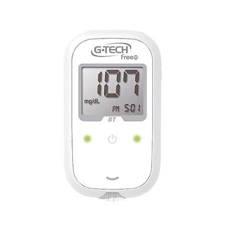 Kit Medidor de Glicose FREE SMART BLUETOOTH c/110 G-TECH