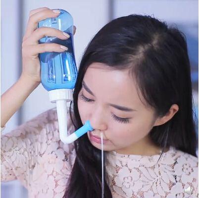 Lavador E Higienizador Nasal - NasiVent Sinucare - Fácil Uso Diário