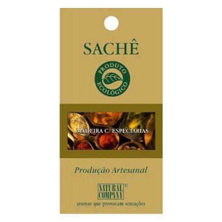 Sachê Perfumado Celulose de Algodão Madeira com Especiarias