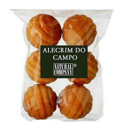 Sachê Perfumado Bolinha de Madeira Alecrim do Campo- 6 unid.