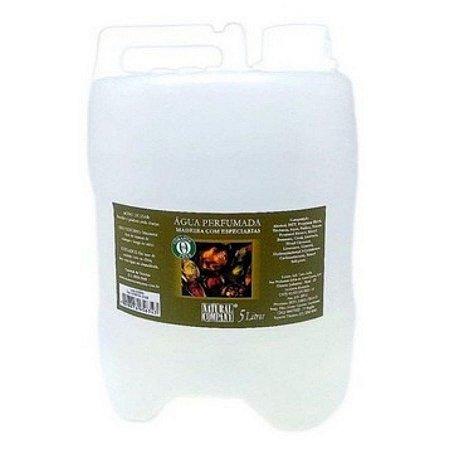 Água Perfumada Madeira com Especiarias - 5 litros