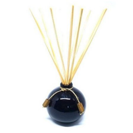 Difusor de Aromas Exuberance - Cerâmica Preta 250 ml+Varetas