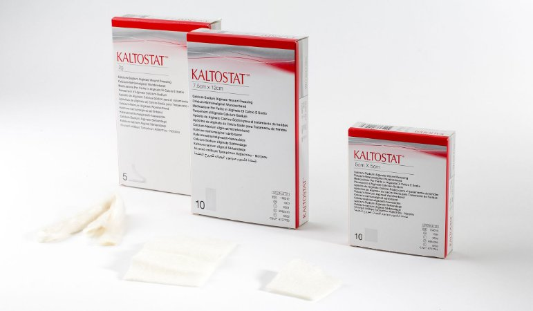 Kaltostat - Curativo de Alginato de Cálcio e Sódio UN 1