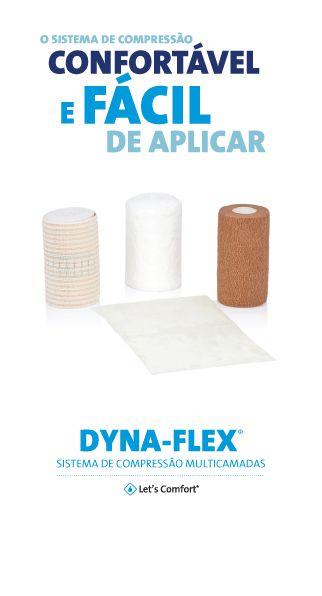 DYNA-FLEX – Sistema de compressão multicamadas – Systagenix