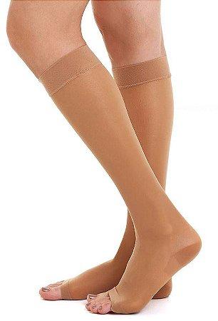 Meia Medi 15-20 mmHg Sheer Soft 3/4 Natural