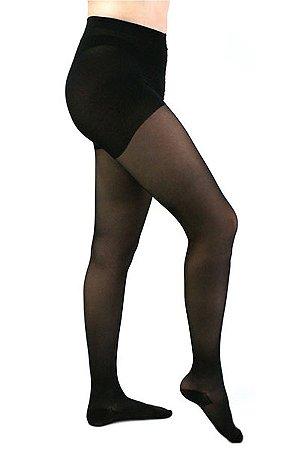 Meia Calça Medi 15-20 mmHg Sheer Soft Preto
