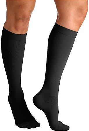 Meia Sigvaris Select Comfort, 20-30 mmHg, 3/4 Panturrilha Cor: Preto