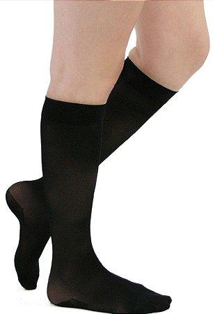 Meia Medi 20-30 mmHg Sheer Soft 3/4 Preto