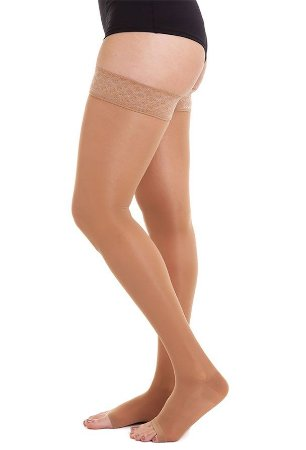 Meia Medi 20-30 mmHg Sheer Soft 7/8 Natural
