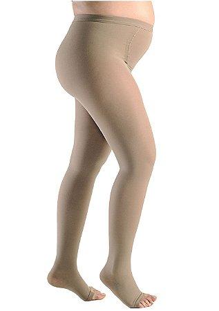 Meia Calça Gestante Sigvaris Select Comfort,  20-30 mmHg, cor: Bege