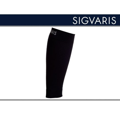 Polaina Esportiva Sigvaris 20-30 mmHg Pulse Road Preto