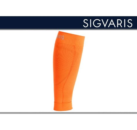 Polaina Esportiva Sigvaris 20-30 mmHg Pulse Road Laranja
