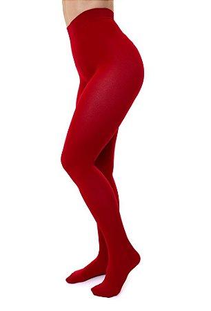 Meia Calça Sigvaris Select Comfort, 20-30 mmHg, cor: Vermelho