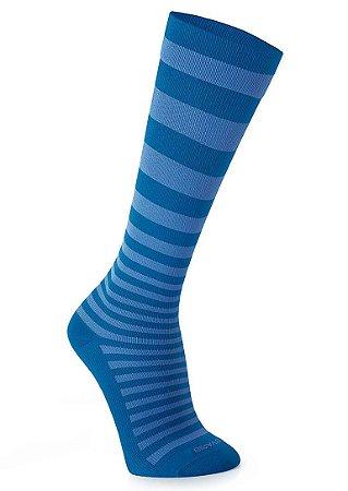Meia Sigvaris Hobby, 15-20 mmHg, 3/4 Cor: Azul