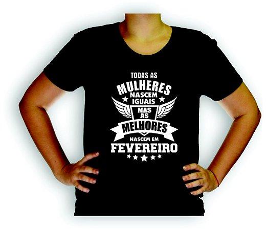 MULHERES DE FEVEREIRO Baby Look