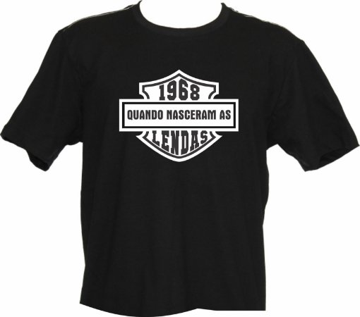 Camiseta Lenda 1968 HD