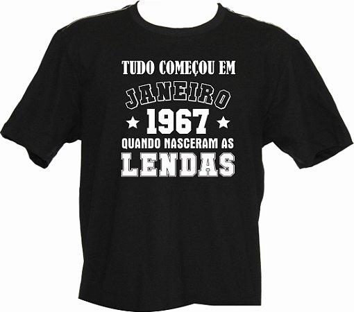 Camiseta Tudo Começou em janeiro 1967